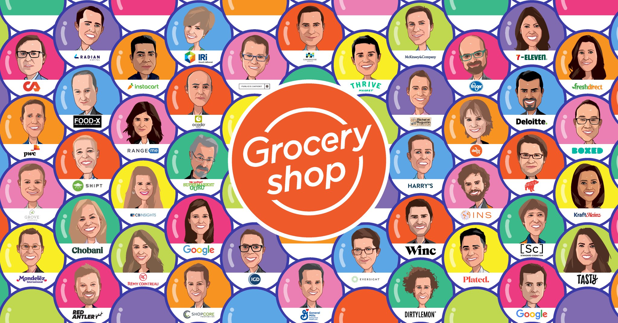 Rachel Elias Wein speaking at GroceryShop 2018